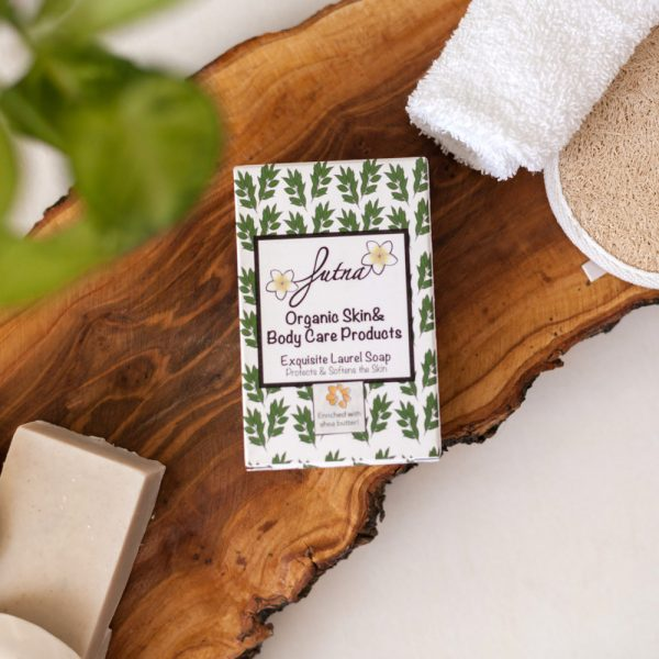 Exquisite Laurel Soap handmade environmentally friendly cruelty free skin soft soothing problems acne eczema