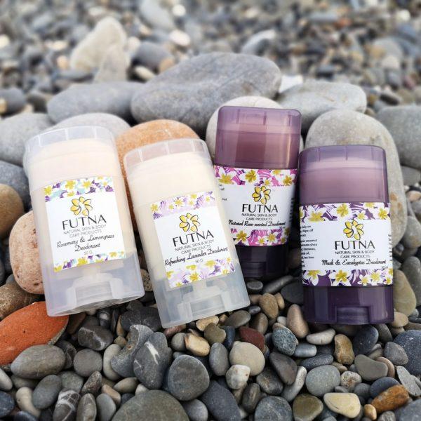 stick deodorant lavender lemongrass rosemary eucalyptus rose musk organic natural
