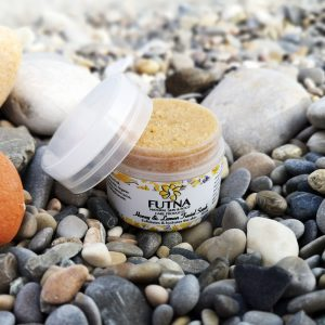 honey lemon facial scrub natural organic sugar exfoliation