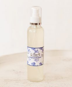Honey & musk water skin freshener cleanser spray perfume hair after shave jordan amman natural organic cruelty free