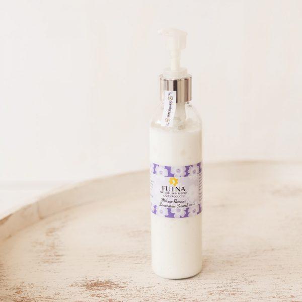 Makeup remover light cream natural organic big bottle
