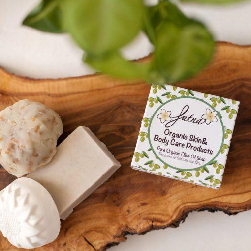Pure Olive Oil soap handmade amman jordan organic natural high quality 100 grams