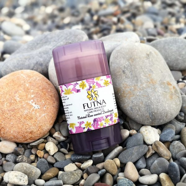 rose scented stick deodorant plastic jordan amman handmade
