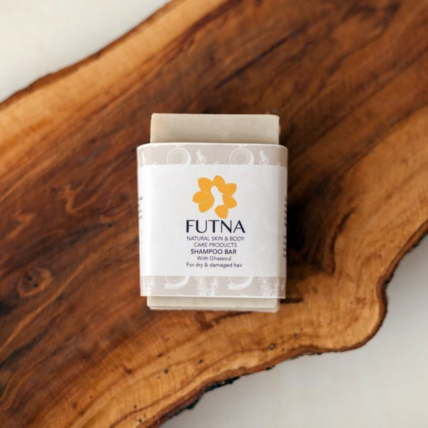 Shampoo bar ghassoul clay marocan organic natural healthy shiny hair silky smooth