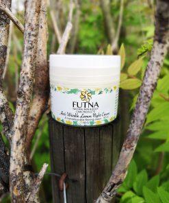 antiwrinkle lemon cream organic face care