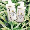 body hand crem organic ingrdients natural lavender lemongrass