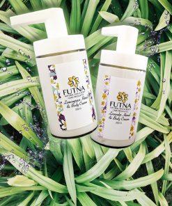 body hand crem organic ingrdients natural lavender lemongrass