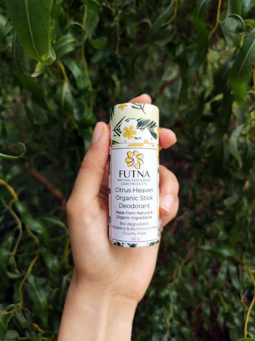 citrus heaven organic stick deodorant
