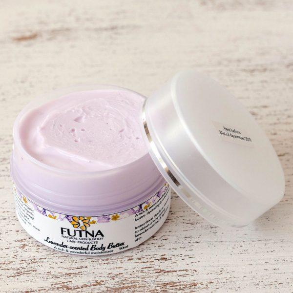 lavender body butter 100 grams handmade amman jordan body cream essential oils