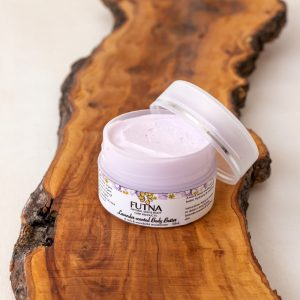 lavender body butter cream skin hydration organic natural