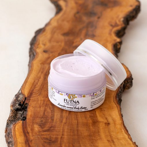 lavender body butter cream skin hydration organic natural