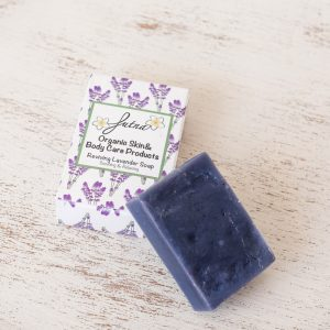 reviving lavender soap handmade amman jordan organic natural soothing body relax spa