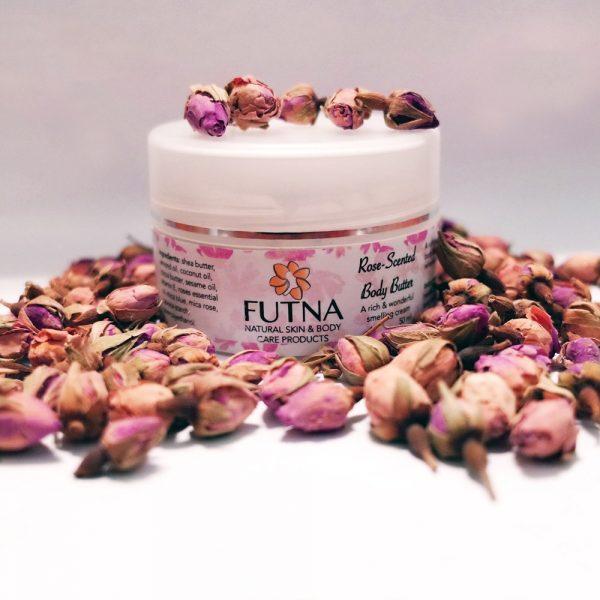 rose-body-butter-organic-natural-handmade-jordan-amman-middle-east-international-shipping