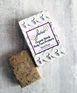 spiced soap gentle scrub organic natural high quality skin