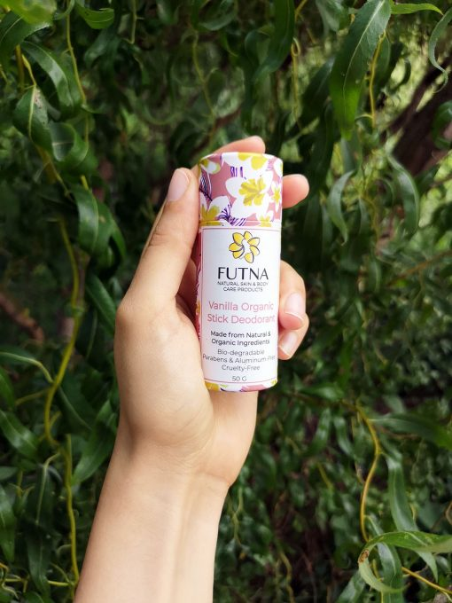 vanilla organic stick deodorant