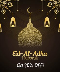 Religious Eid Al Adha mubarak decorative background