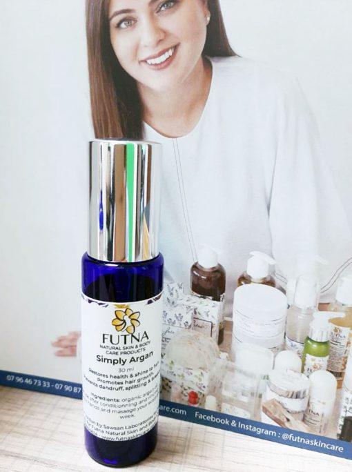 Simply argan restores health shine to hair promotes growth prevents dandruff splitting
