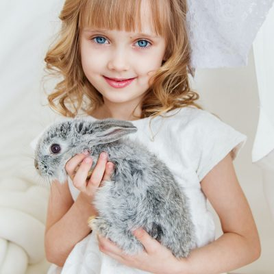 organic skin care cruelty free rabbit animal lover girl